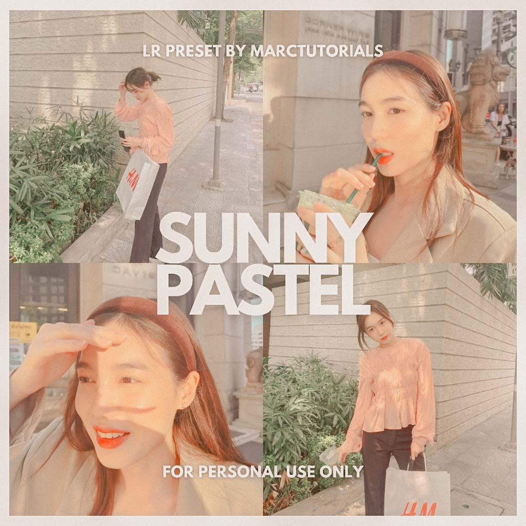 Sunny Pastel Lightroom Preset- Lightroom Preset