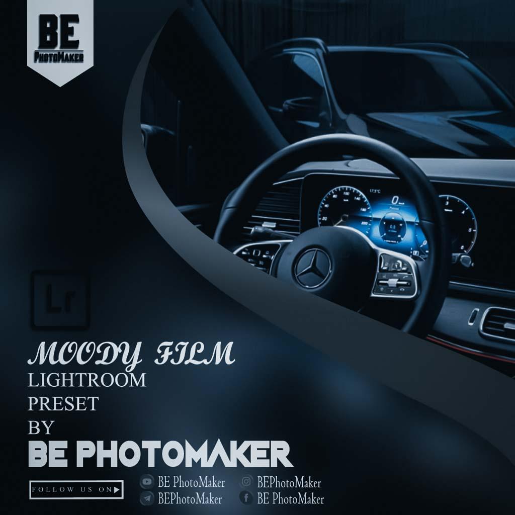 Moody Film Preset by BE PhotoMaker Lightroom Preset