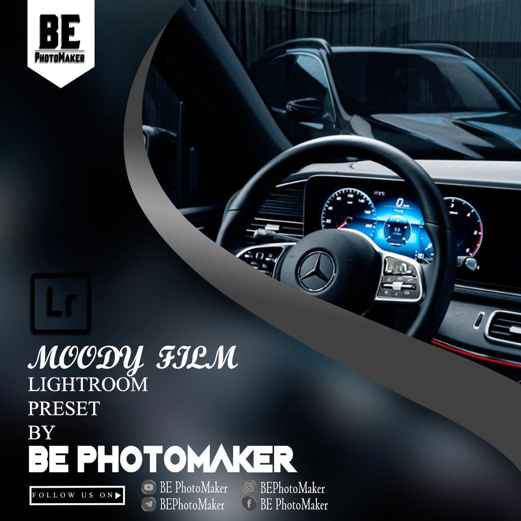 Moody Film Preset by BE PhotoMaker- Lightroom Preset