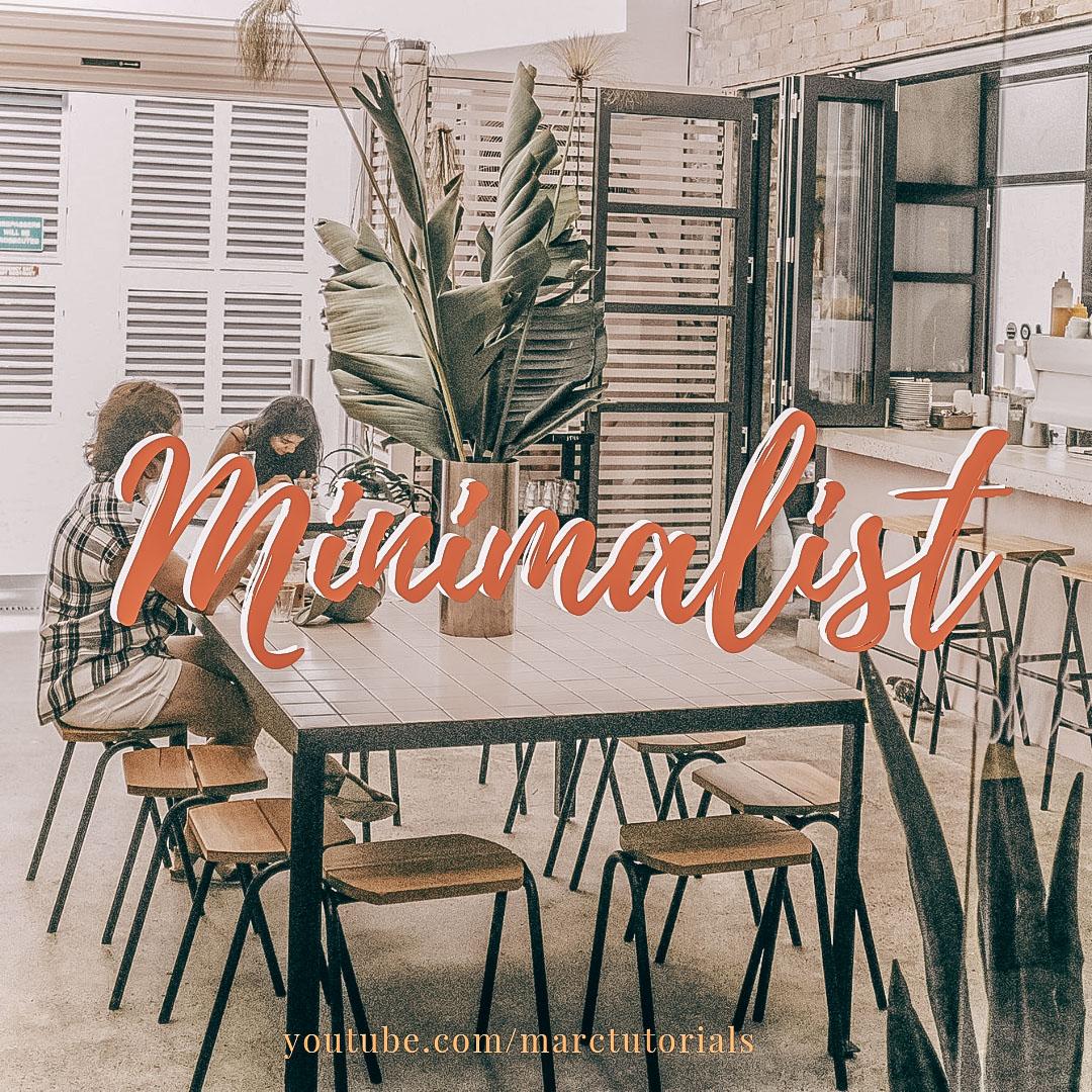 Minimalist Preset- Lightroom Preset