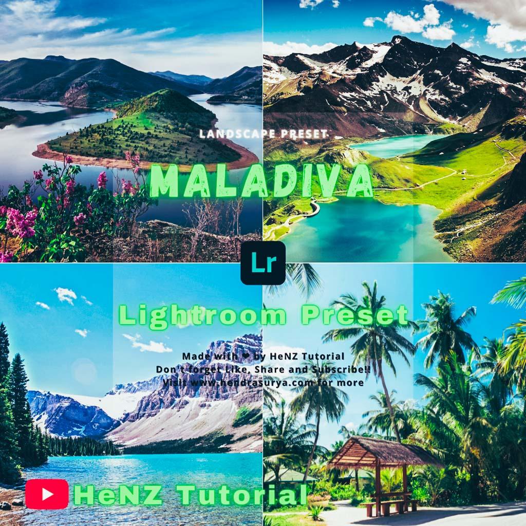 Maladive Lightroom Preset | Landscape Preset Lightroom Preset