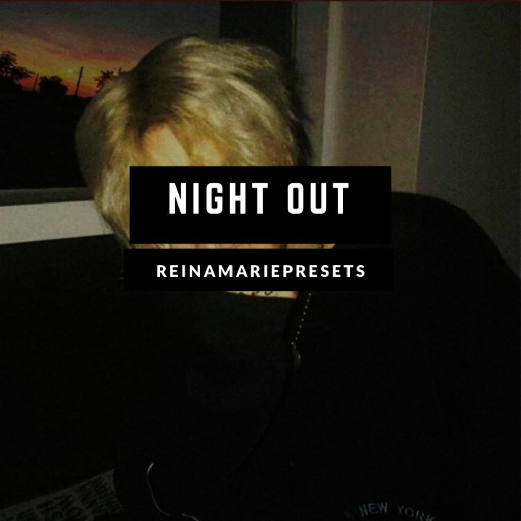 Night Out Lightroom Preset- Lightroom Preset