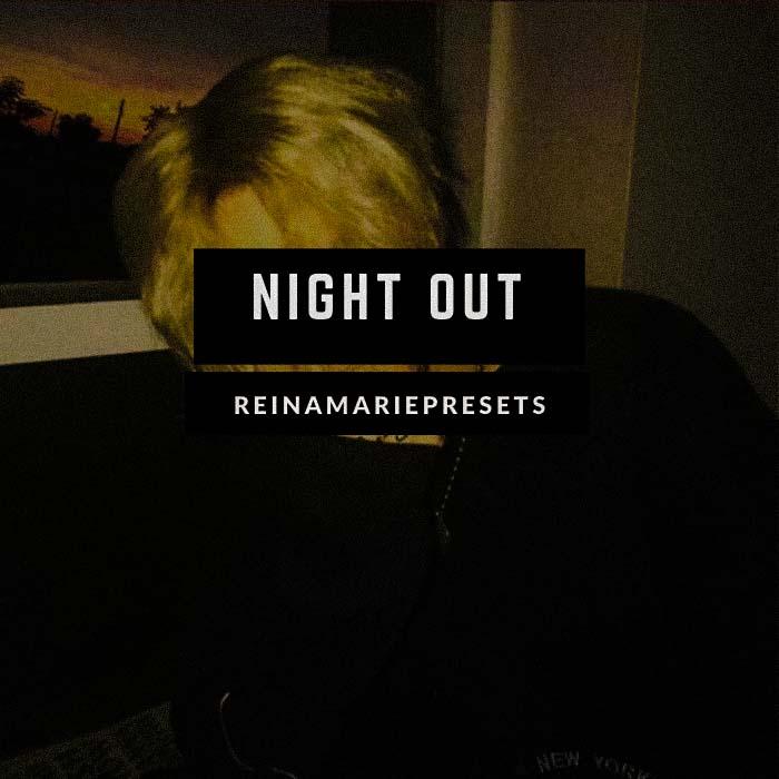 Night Out Lightroom Preset Lightroom Preset