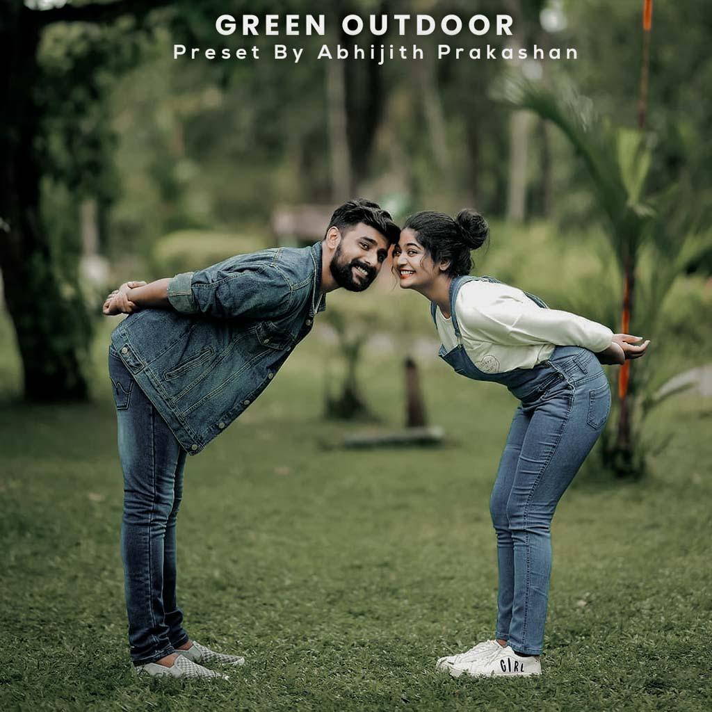 Special Green Outdoor Lightroom Preset