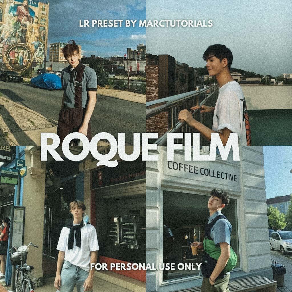 Roque Film Preset - Lightroom Mobile Aesthetic Fil Lightroom Preset