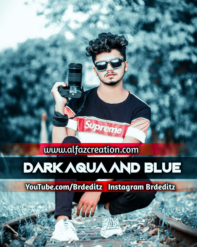 Dark Aqua And Blue Lightroom Presets Download Lightroom Preset