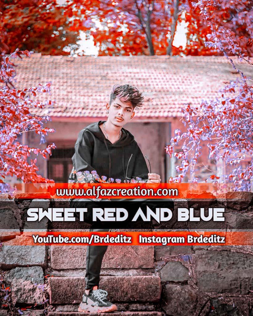 Sweet Red And Blue Effect Lightroom Presets Downlo Lightroom Preset
