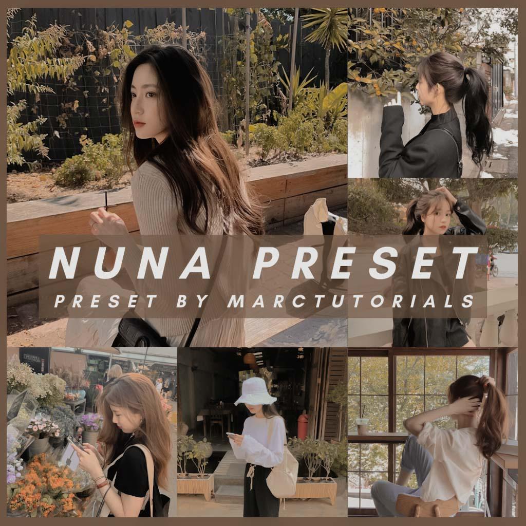 nuna- Lightroom Preset