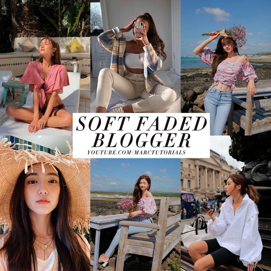 soft faded blogger- Lightroom Preset