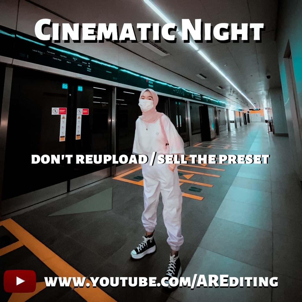 Cinematic Night!- Lightroom Preset