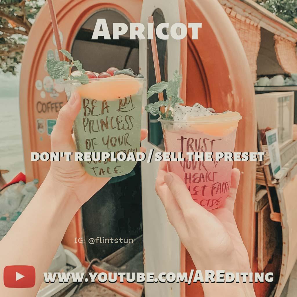 Apricot Preset! Lightroom Preset