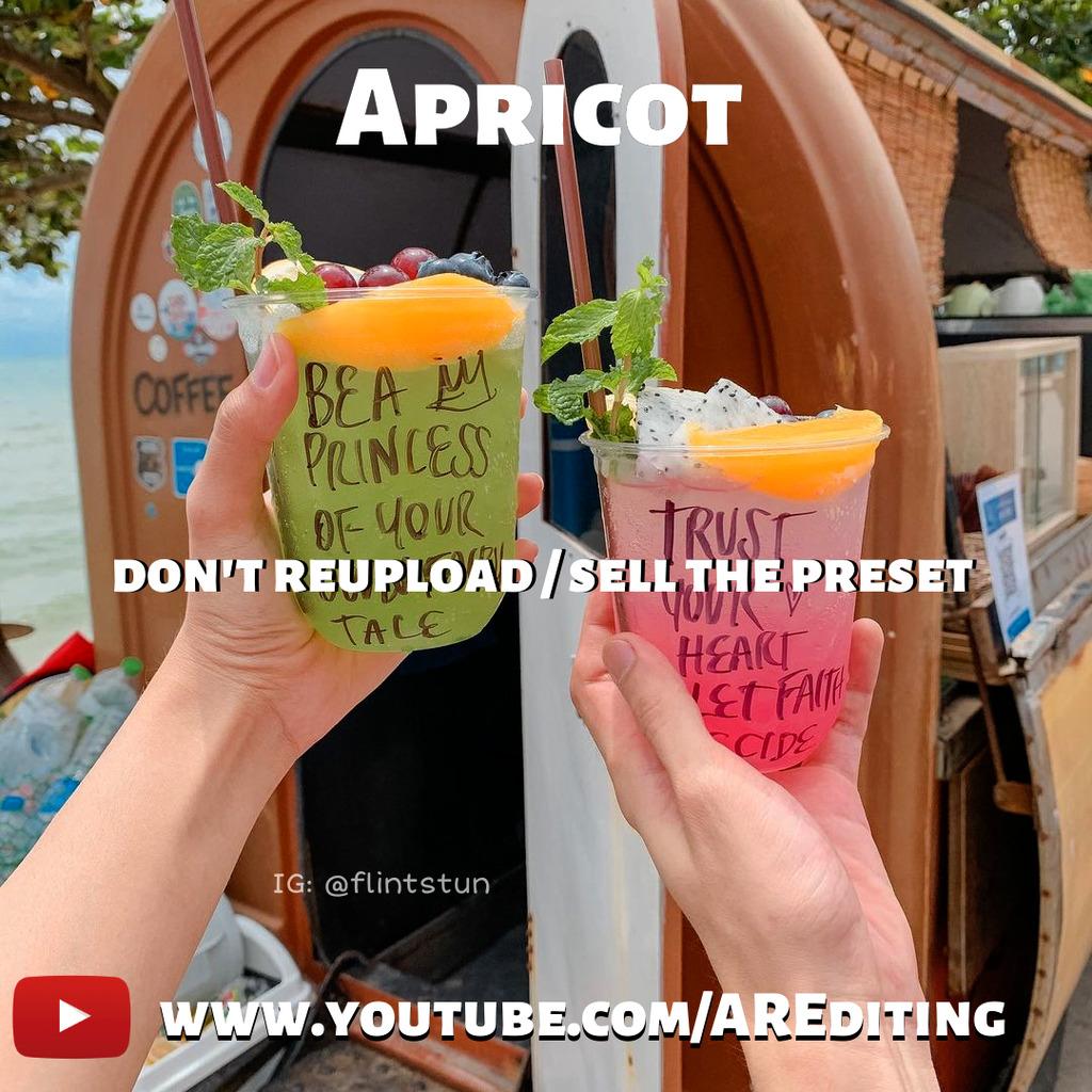 Apricot Preset!- Lightroom Preset