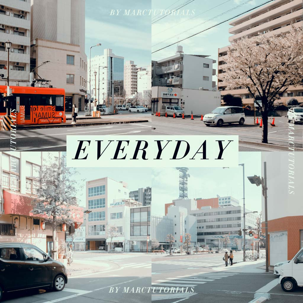 everyday- Lightroom Preset