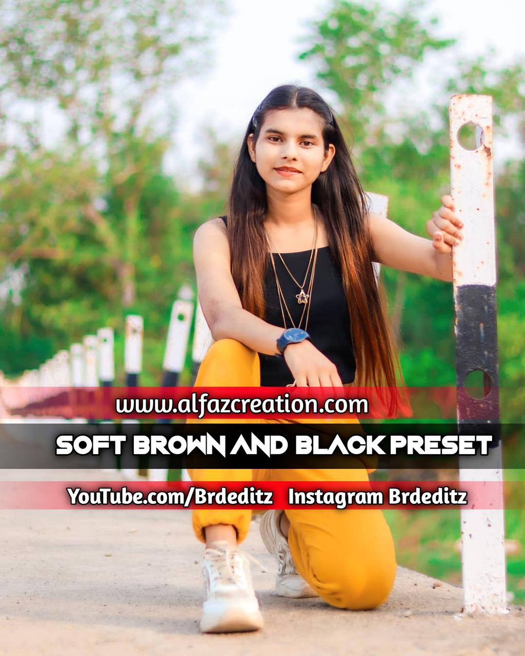 Soft Brown And Black Tone Lightroom Presets Downlo- Lightroom Preset