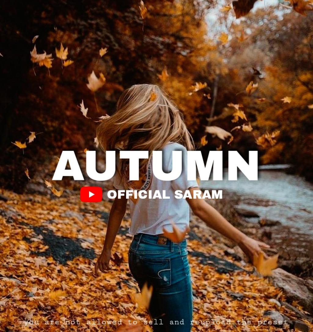 Autumn Photography- Lightroom Preset