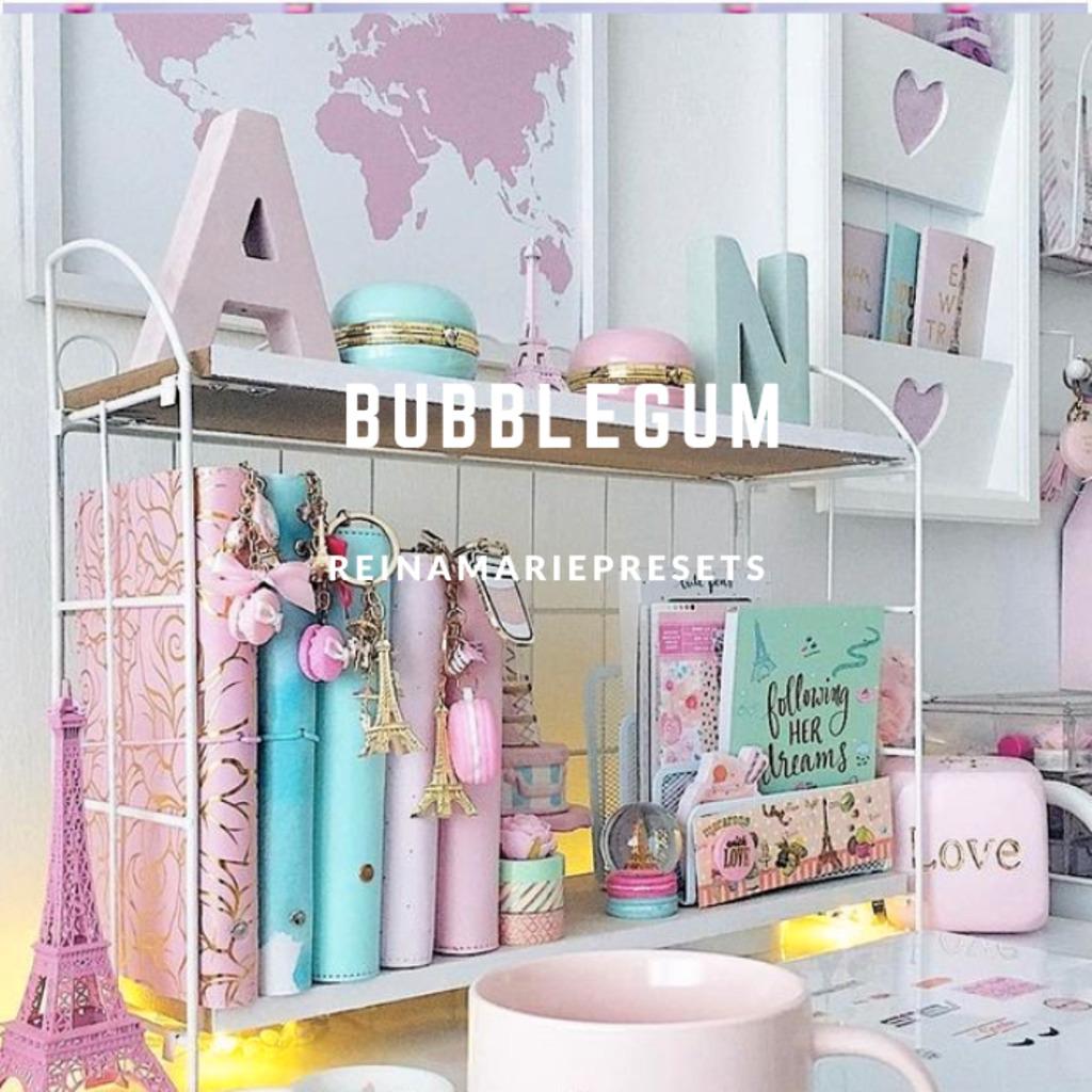 BUBBLEGUM Lightroom Preset- Lightroom Preset