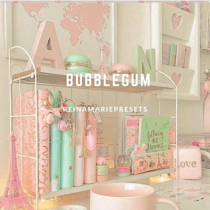 BUBBLEGUM Lightroom Preset Lightroom Preset