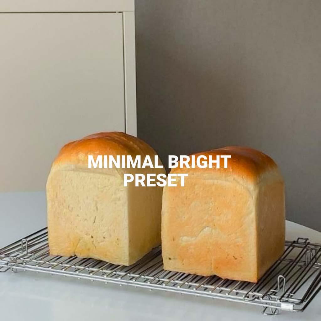 Minimal Bright Lightroom Preset