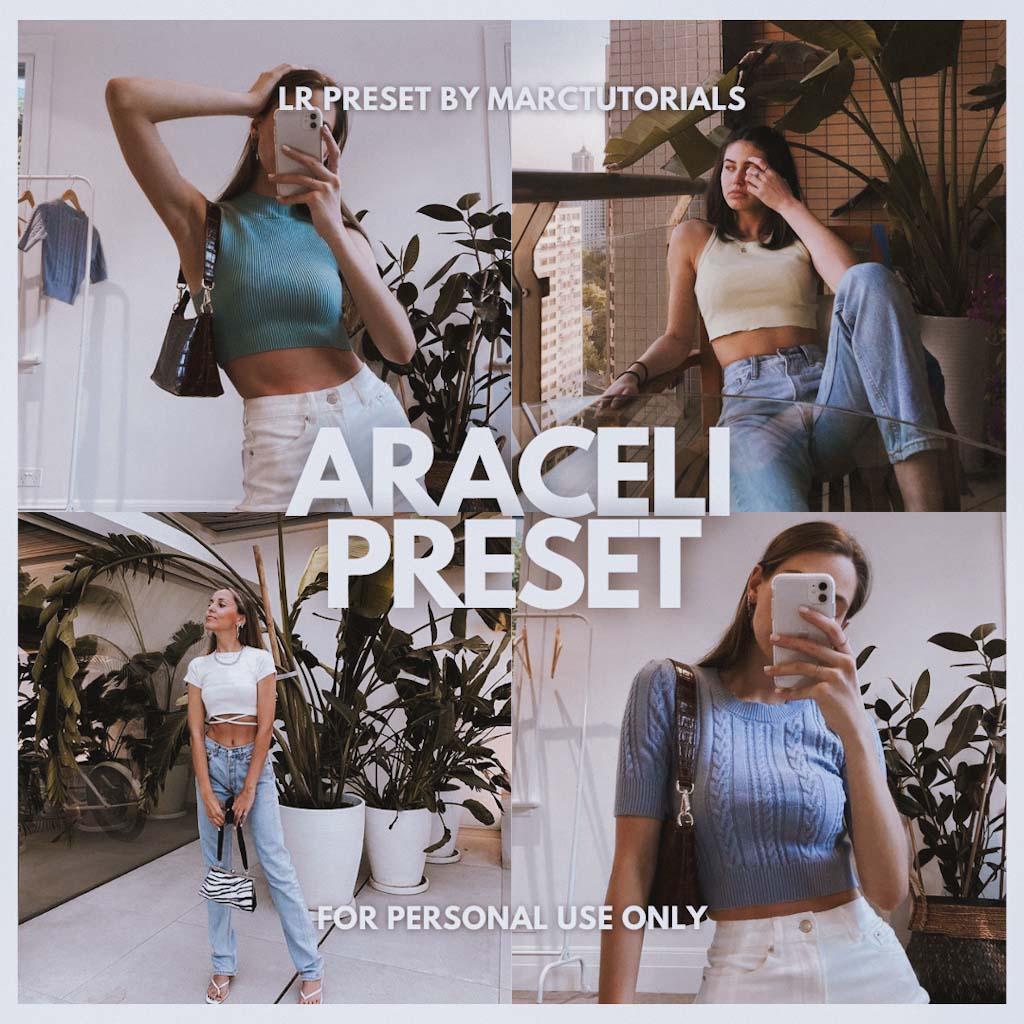 ARACELI LIGHTROOM PRESET- Lightroom Preset