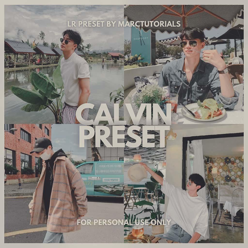 CALVIN LIGHTROOM PRESET- Lightroom Preset