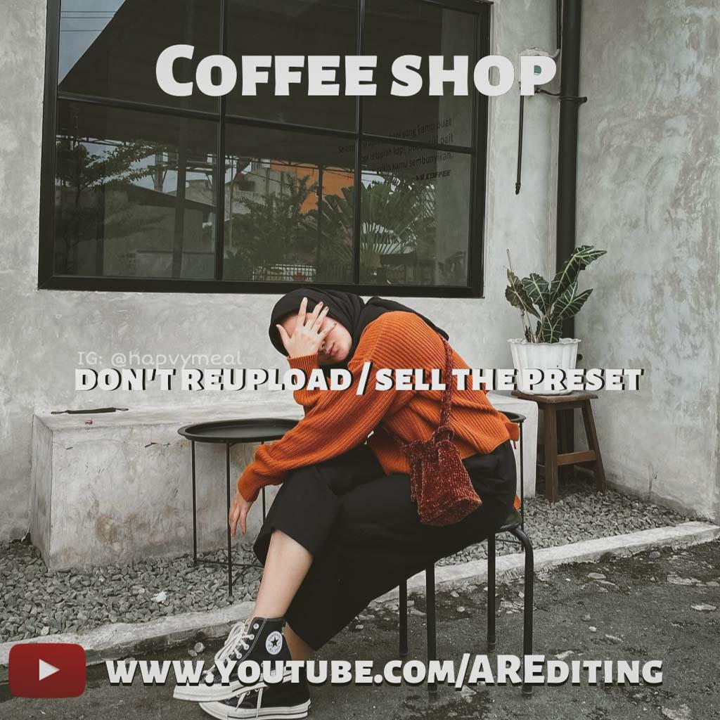 Coffee Shop Preset! Lightroom Preset
