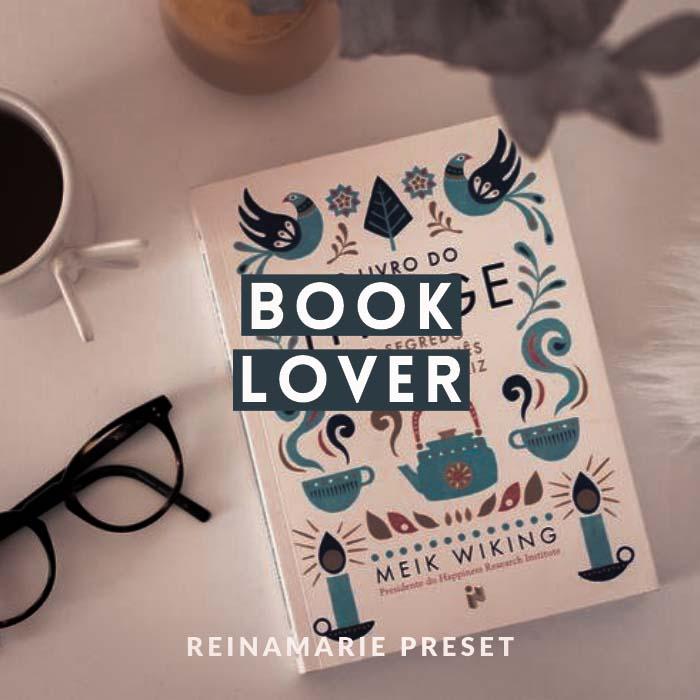 Book Lover Preset- Lightroom Preset