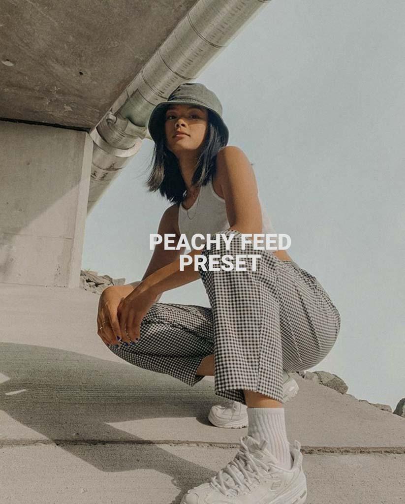 Peachy Feed preset Lightroom Preset