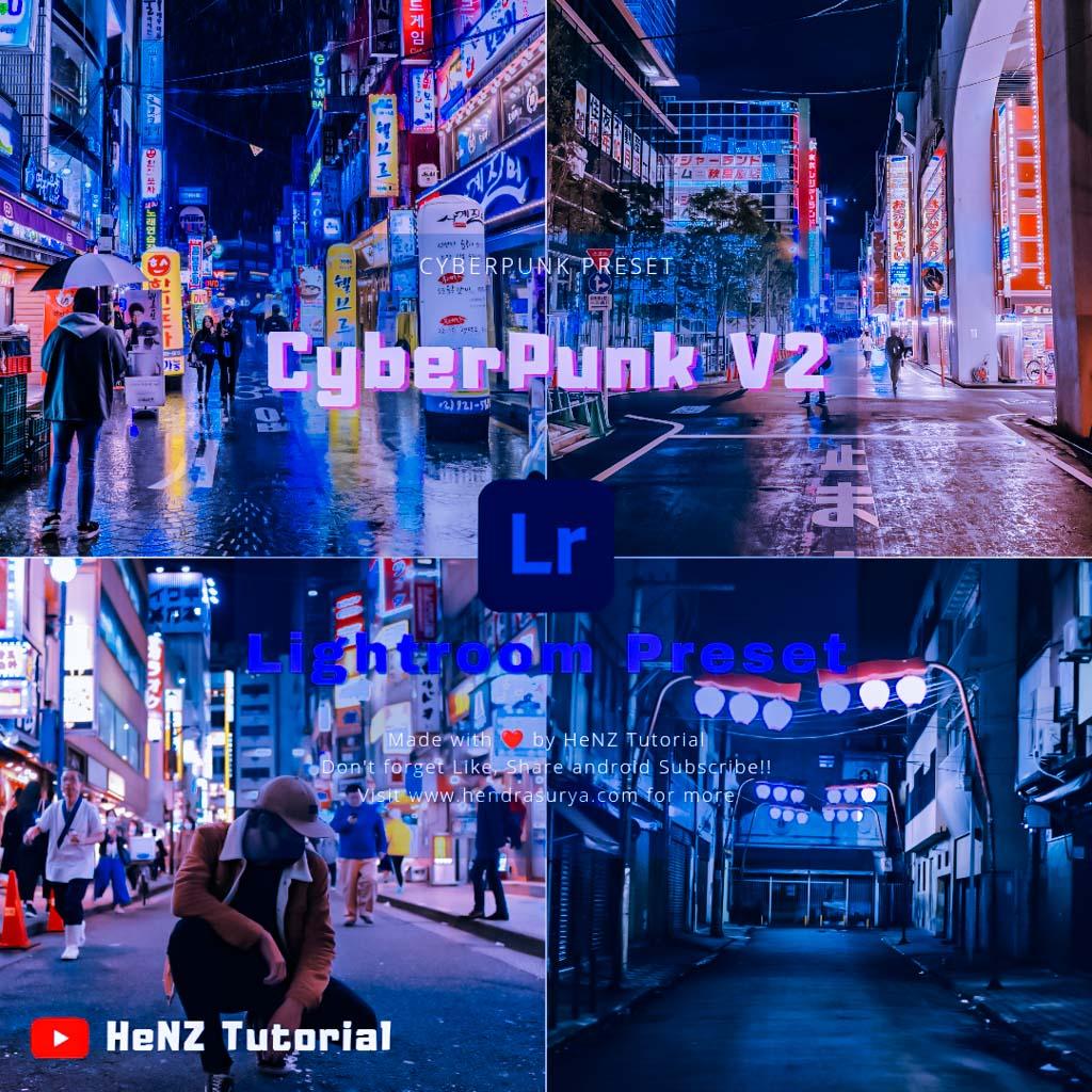 Cyberpunk V2 Lightroom Preset Lightroom Preset