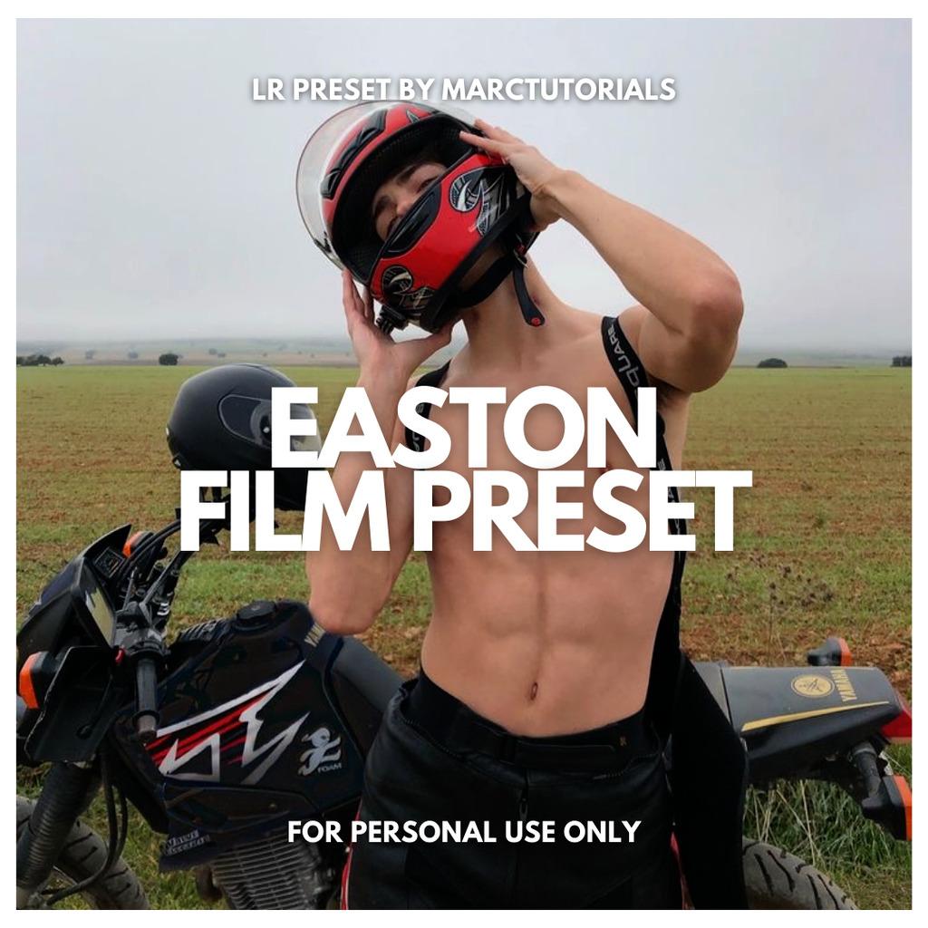 EASTON FILM LIGHTROOM PRESET- Lightroom Preset