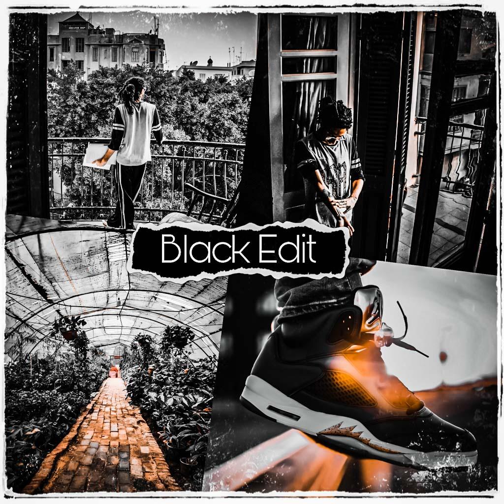 Black Edit for Lightroom Lightroom Preset
