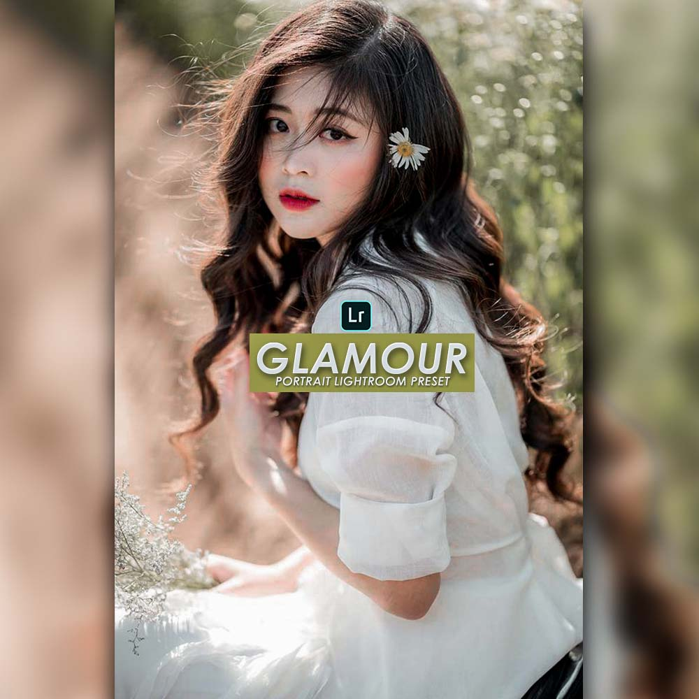 Glamour portrait lightroom preset Lightroom Preset
