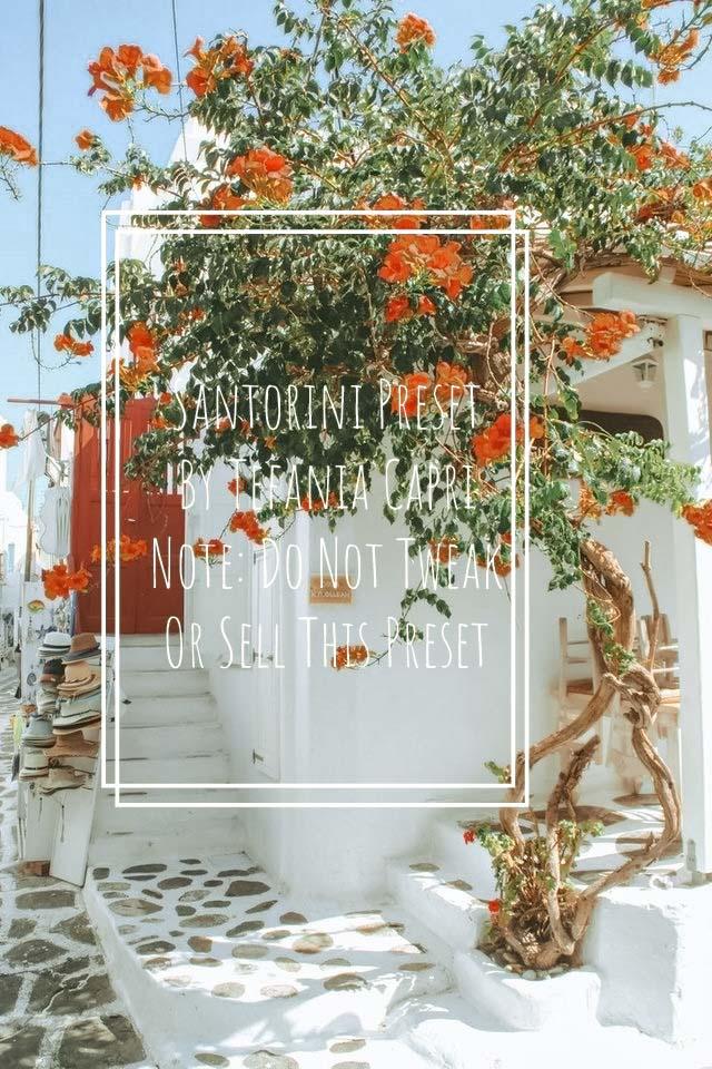 Santorini Preset 2 Lightroom Preset