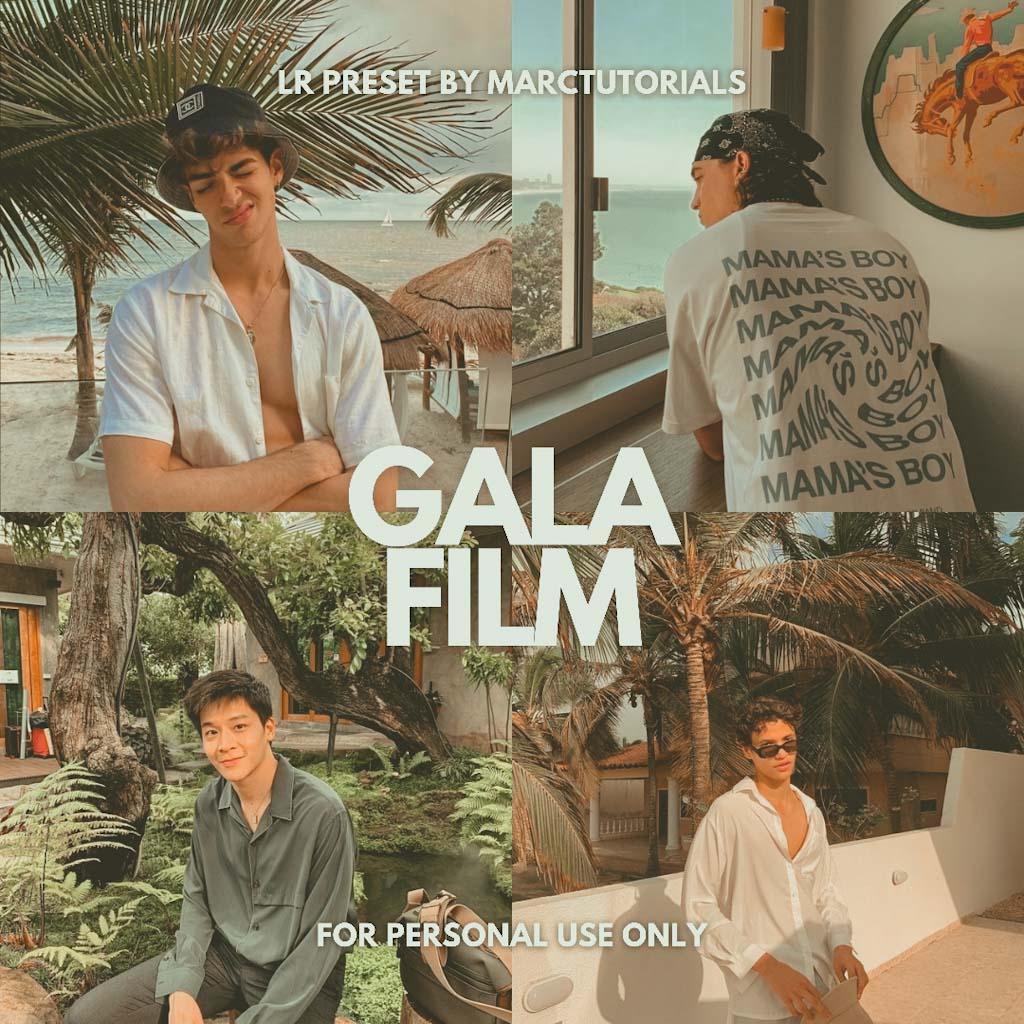 Aesthetic Gala Film Tone Lightroom Preset Lightroom Preset