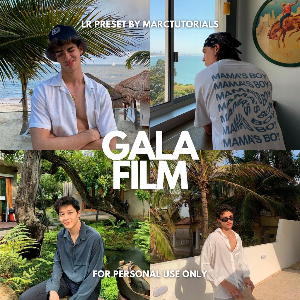 Aesthetic Gala Film Tone Lightroom Preset- Lightroom Preset