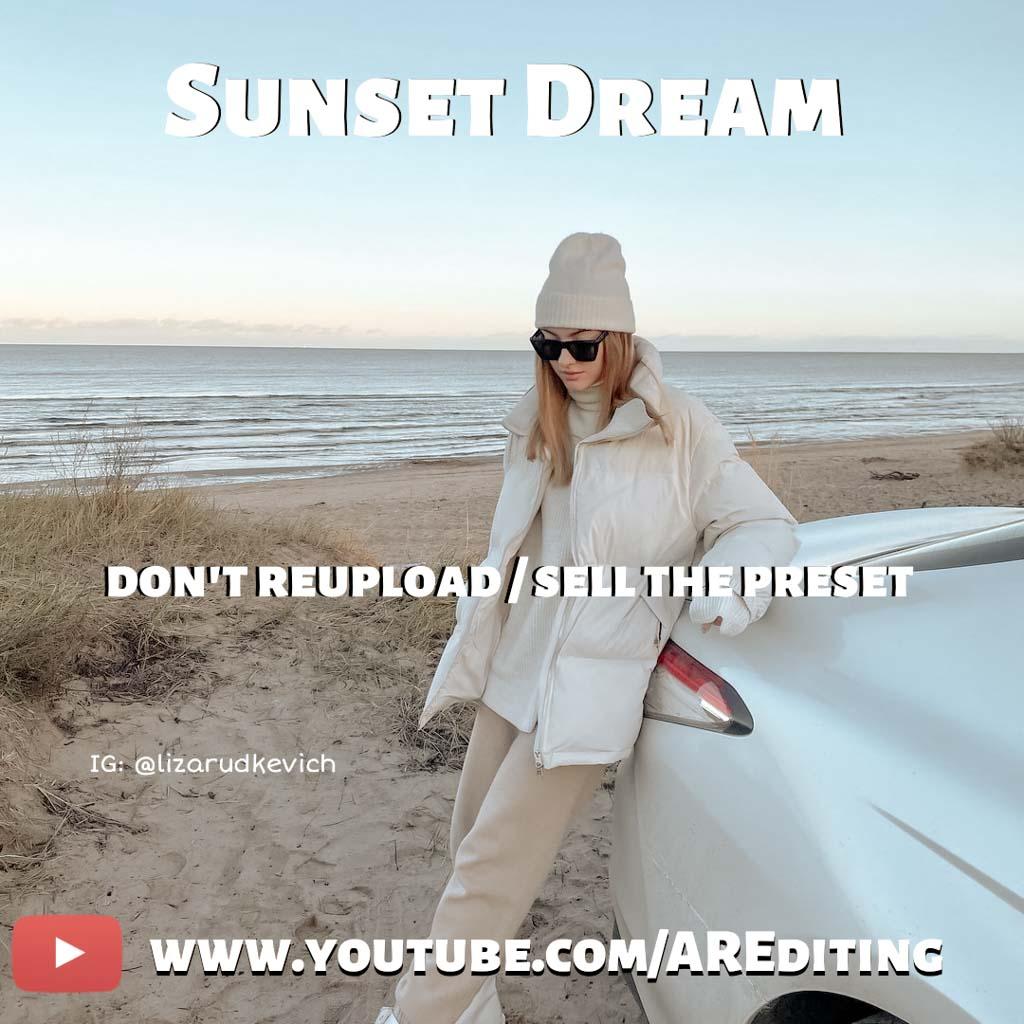 Sunset Dream Lightroom Preset