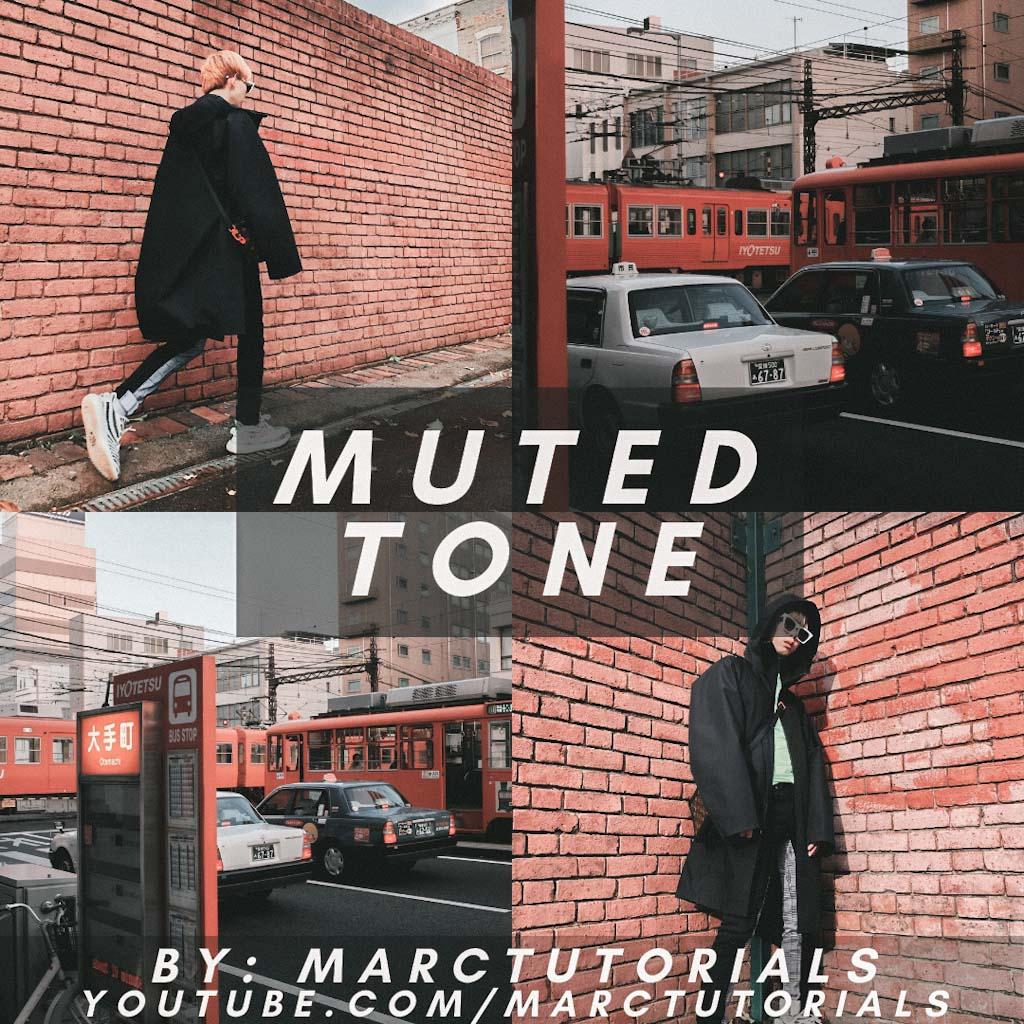 muted tone- Lightroom Preset