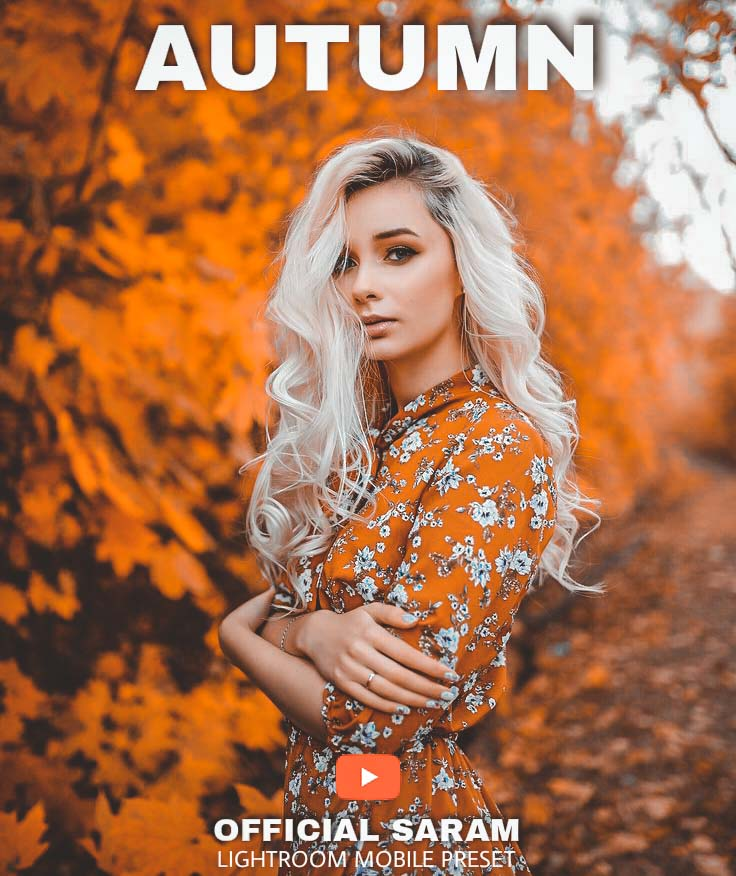 Autumn Preset! Lightroom Preset