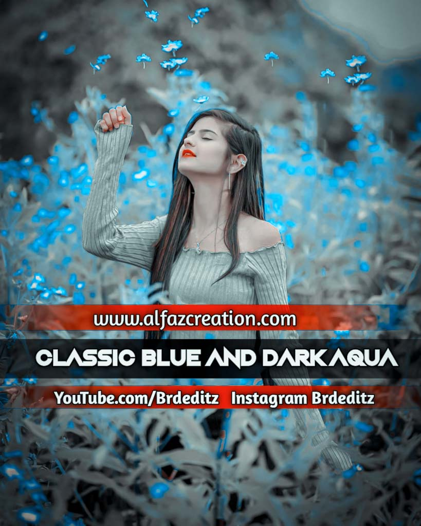 Classic Blue And Dark Aqua Lightroom Presets Downl Lightroom Preset