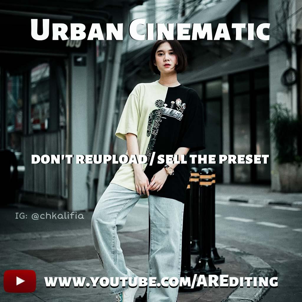 Urban Cinematic Preset! Lightroom Preset