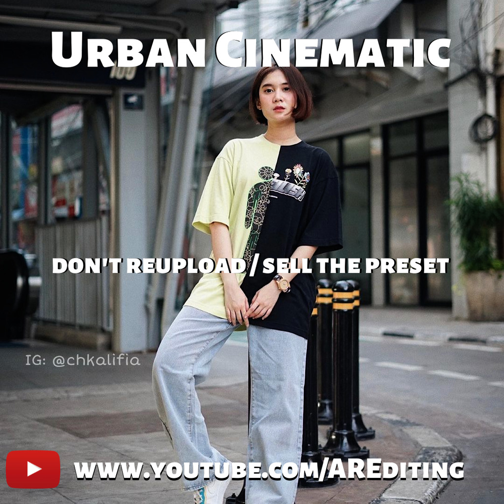 Urban Cinematic Preset!- Lightroom Preset