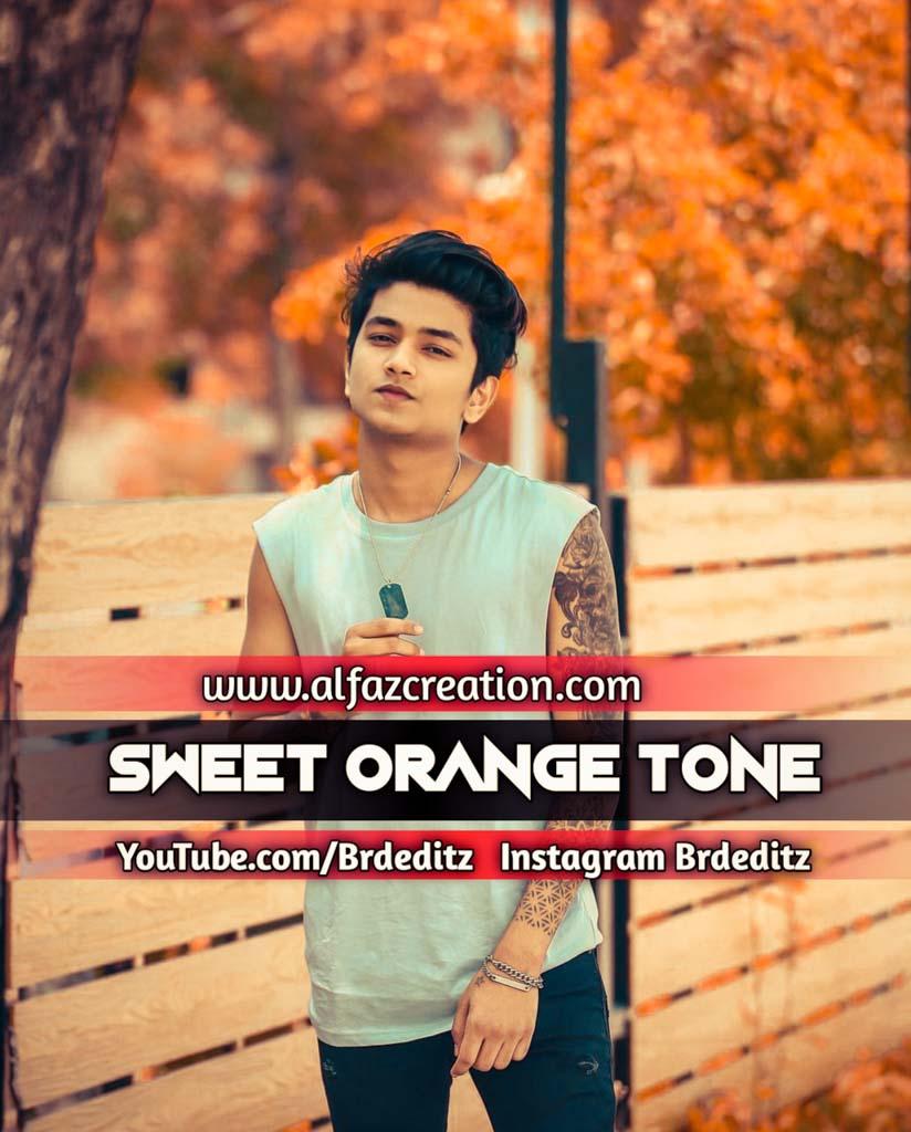 Sweet Orange Tone Lightroom Presets Download Lightroom Preset