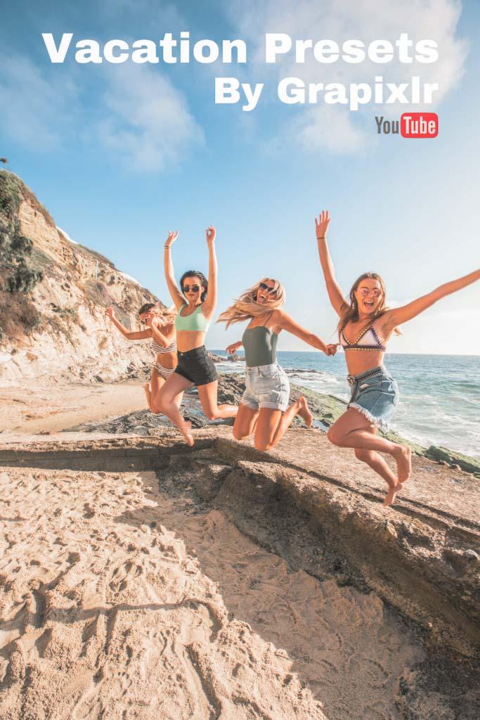 Vacation Presets By Grapixlr Lightroom Preset