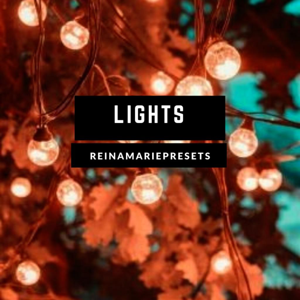 Lights Lightroom Presets- Lightroom Preset