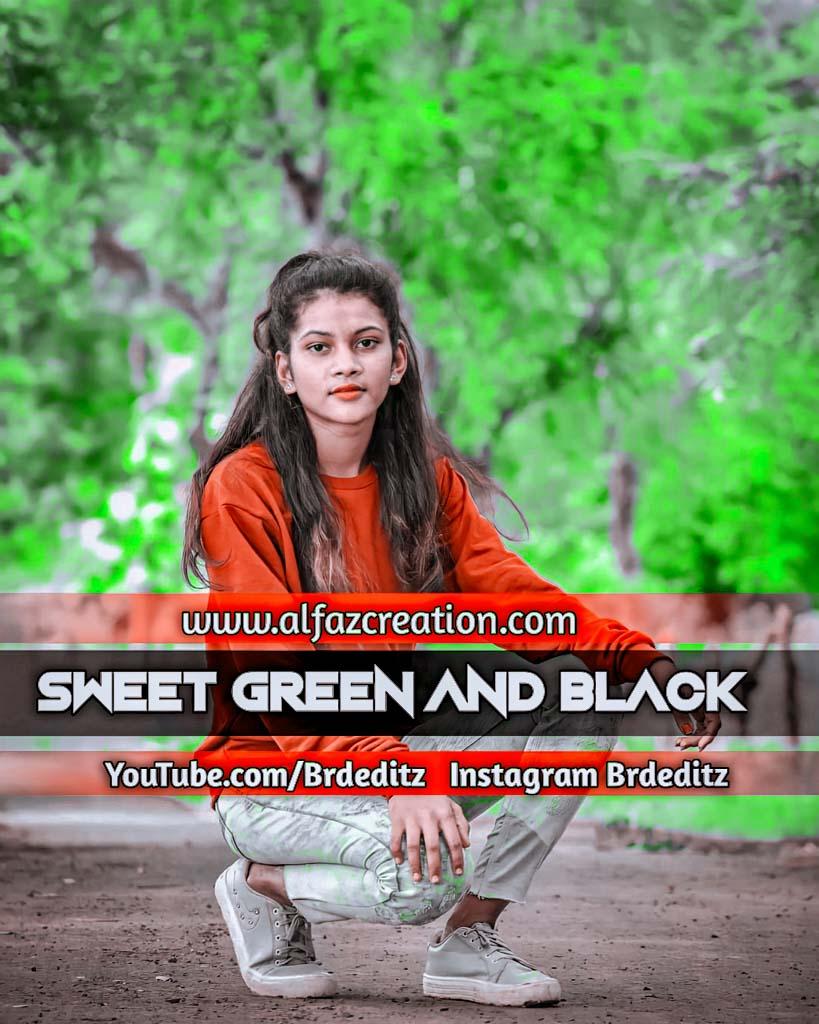 Sweet Green And Black Effect Lightroom Presets Dow Lightroom Preset