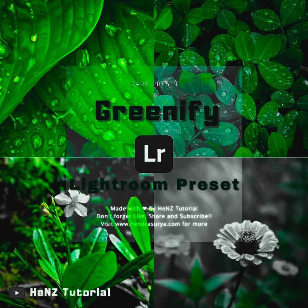 Greenify Lightroom Preset Lightroom Preset