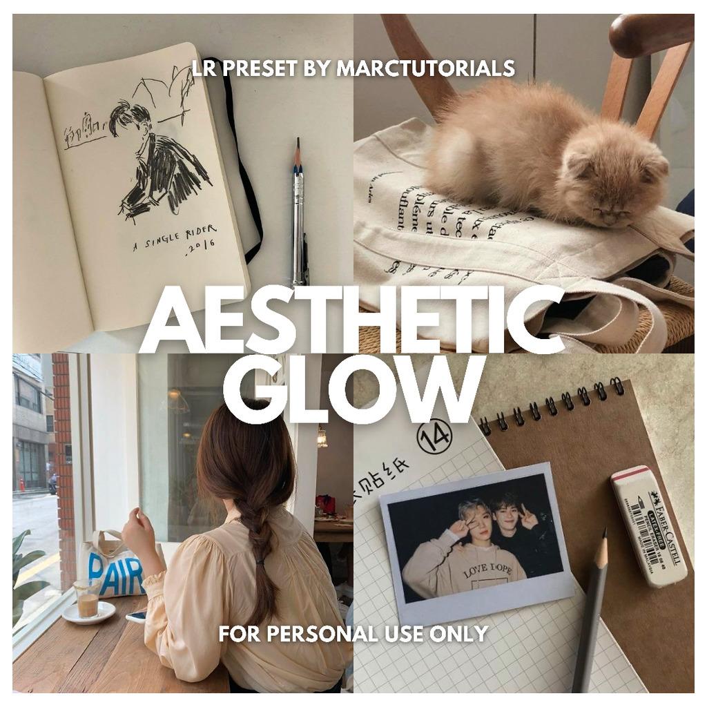 Aesthetic Glow ✨ Lightroom Preset- Lightroom Preset