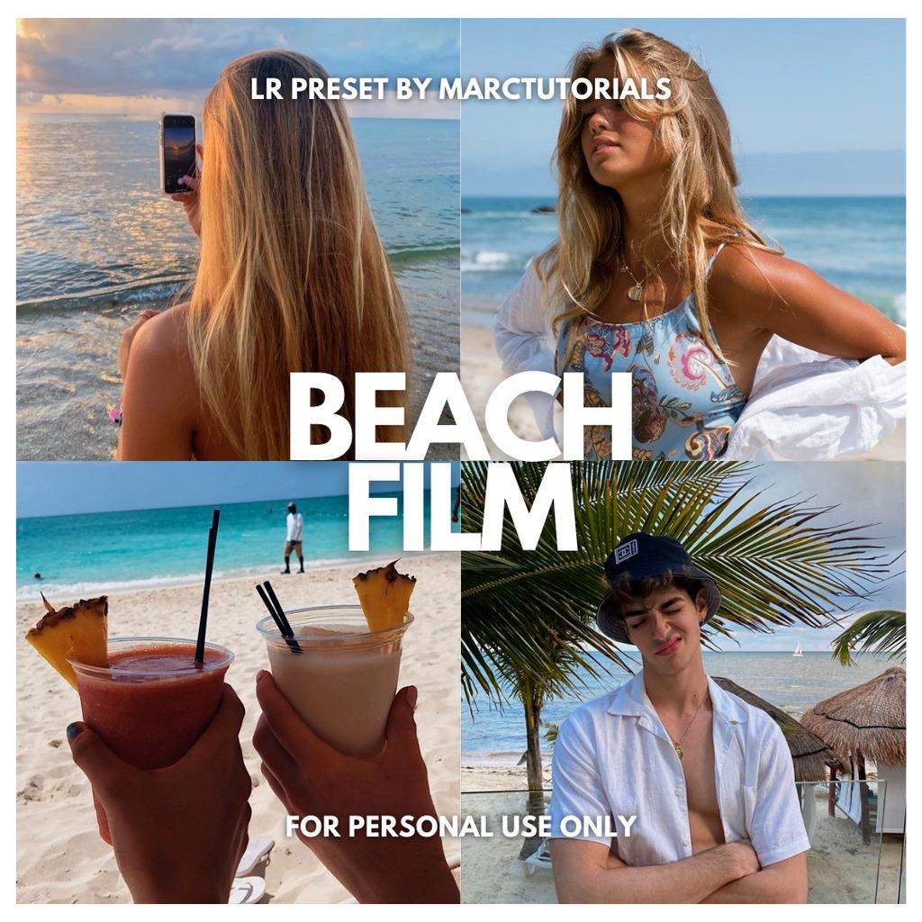 Beach Film Lightroom Preset- Lightroom Preset