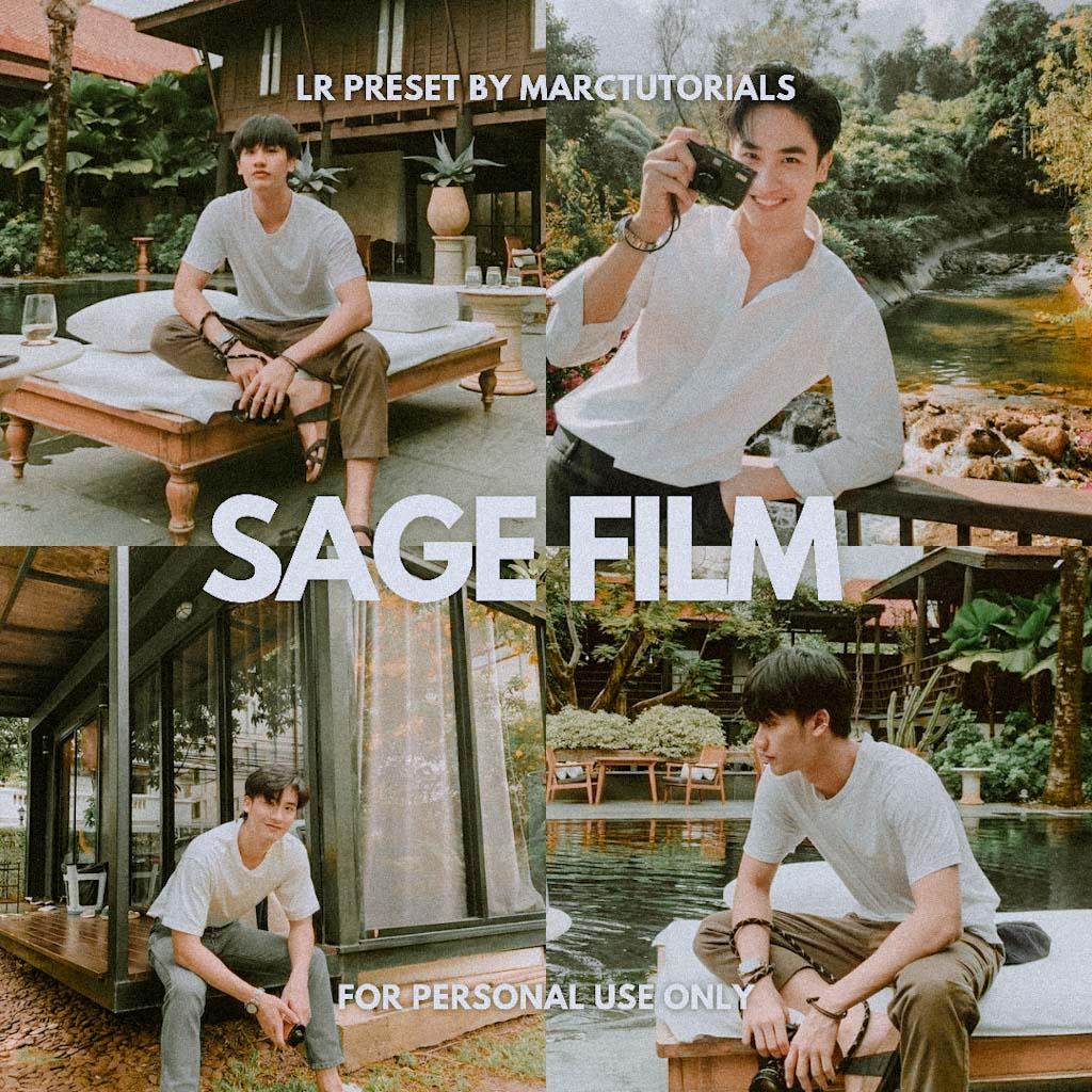 Sage Film Preset - Lightroom Mobile Aesthetic Film Lightroom Preset