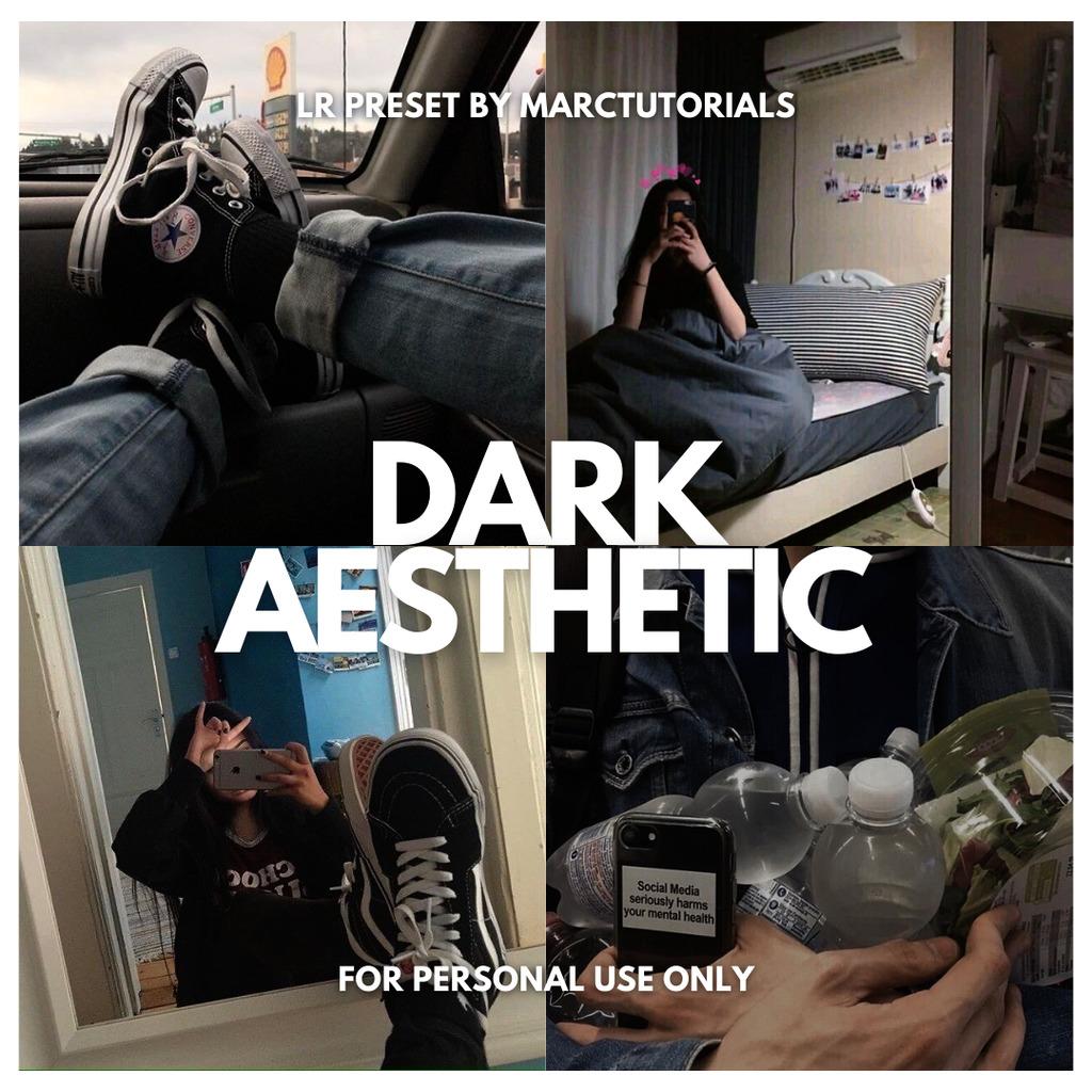 Dark Aesthetic Free Lightroom Preset- Lightroom Preset