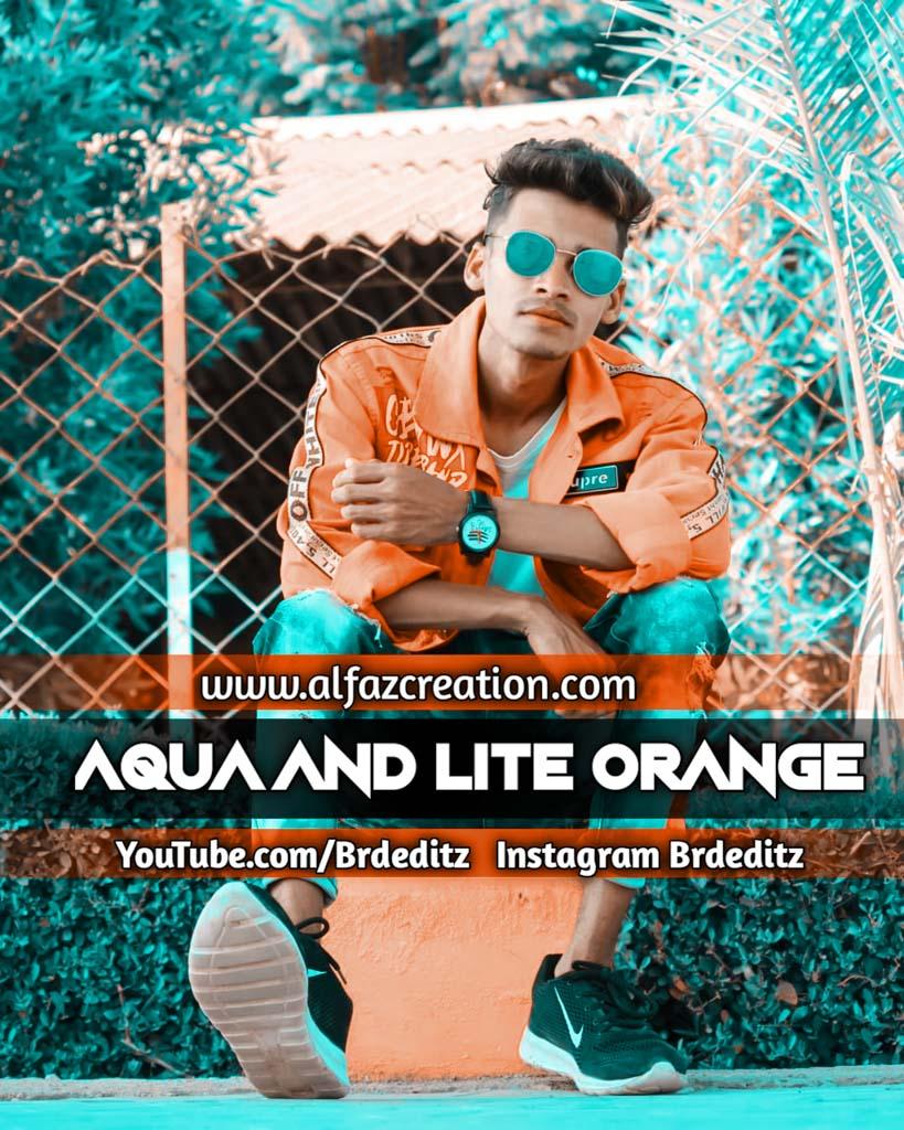 Aqua And Lite Orange Effect Lightroom Presets Down Lightroom Preset